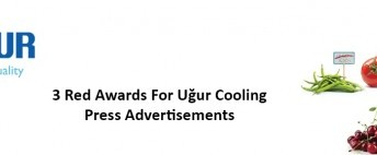 3 Red Awards for Ugur Cooling Press Advertisements