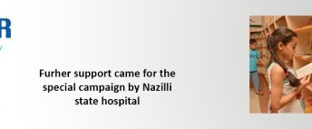 Furher Support Came for the Special Campaign by Nazilli State Hospital