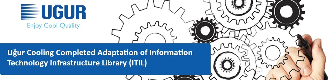uğur cooling completed adaptation of information technology infrastructure library (itil)
