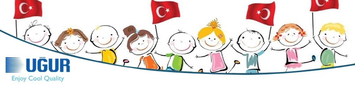uğur cooling, did not forget the children on april 23rd