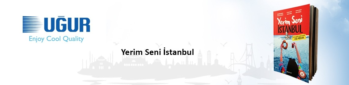 uğur cooling supported the gourmet book of yerim seni istanbul