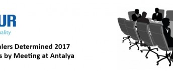 Uğur Dealers Determined 2017 Objectives by Meeting at Antalya