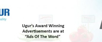 "Uğur's Award Winning Advertisements are at ""Ads Of The World""!"